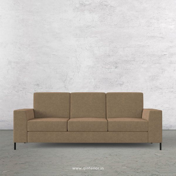 Viva 3 Seater Sofa in Velvet Fabric - SFA015 VL11