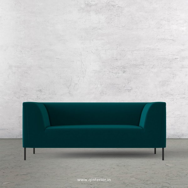 LUXURA 2 Seater Sofa in Velvet Fabric - SFA017 VL13