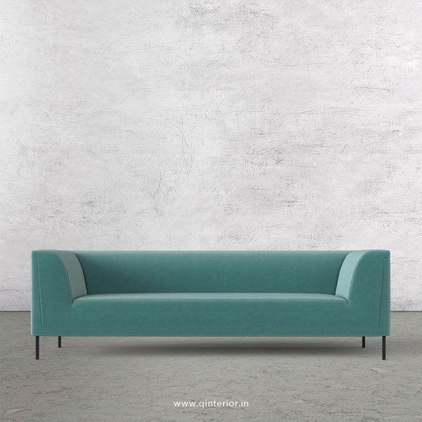 LUXURA 3 Seater Sofa in Velvet Fabric - SFA017 VL14