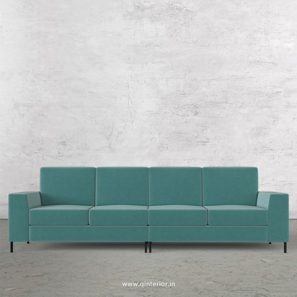 Viva 4 Seater Sofa in Velvet Fabric - SFA015 VL14