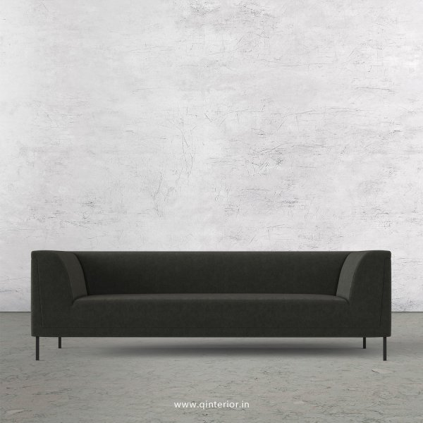 LUXURA 3 Seater Sofa in Velvet Fabric - SFA017 VL15