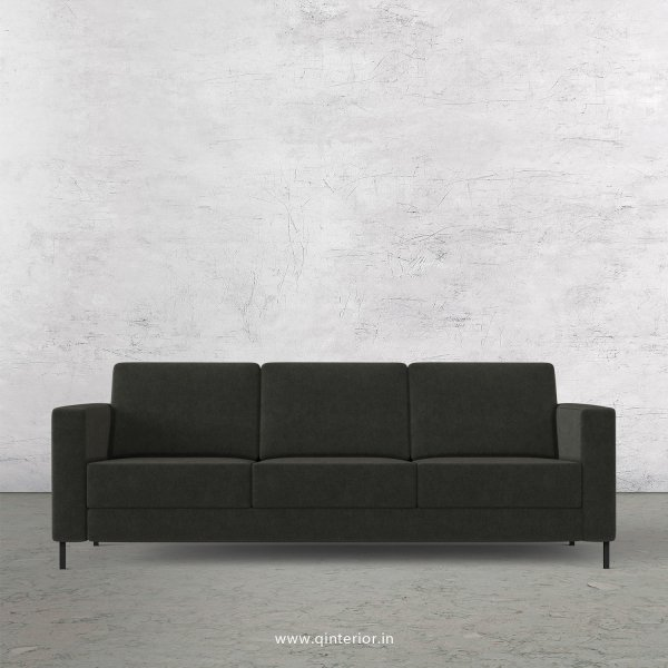 NIRVANA 3 Seater Sofa in Velvet Fabric - SFA016 VL15