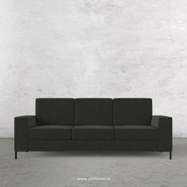 Viva 3 Seater Sofa in Velvet Fabric - SFA015 VL15