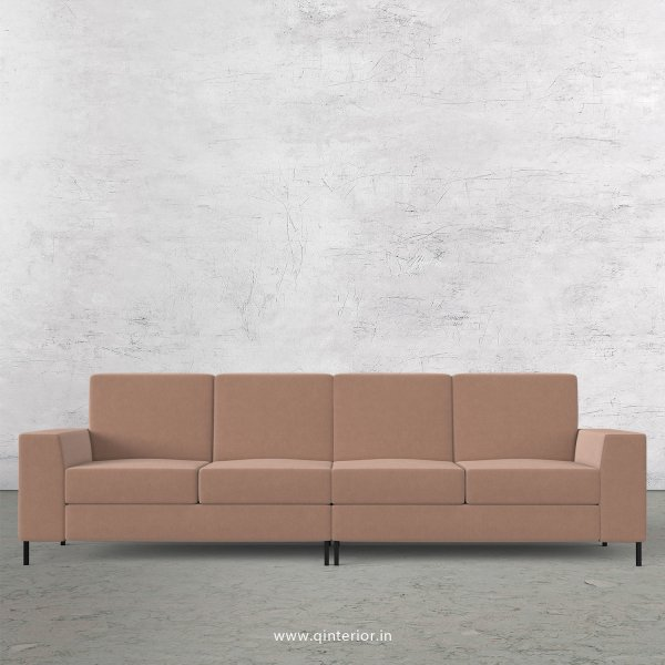 Viva 4 Seater Sofa in Velvet Fabric - SFA015 VL16