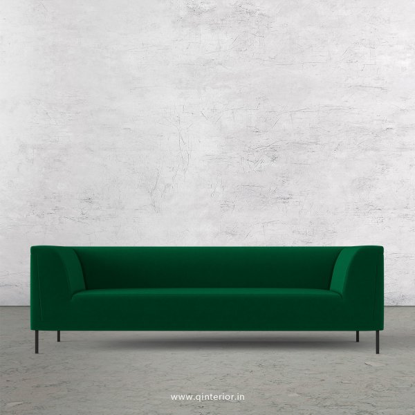 LUXURA 3 Seater Sofa in Velvet Fabric - SFA017 VL17