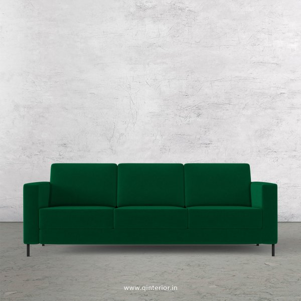 NIRVANA 3 Seater Sofa in Velvet Fabric - SFA016 VL17