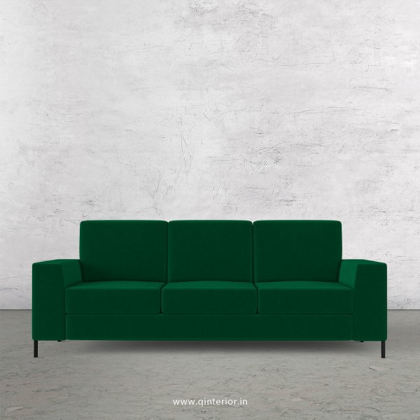 Viva 3 Seater Sofa in Velvet Fabric - SFA015 VL17