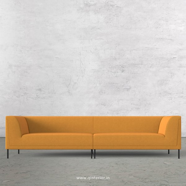 LUXURA 4 Seater Sofa in Velvet Fabric - SFA017 VL18