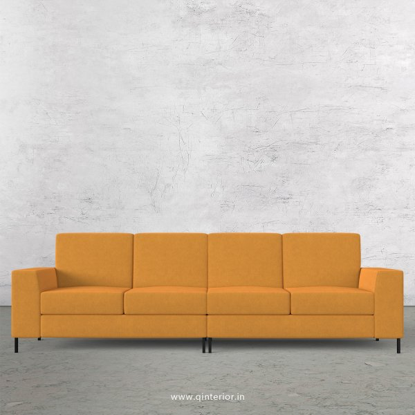 Viva 4 Seater Sofa in Velvet Fabric - SFA015 VL18