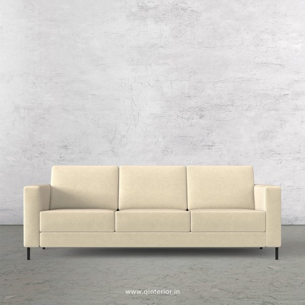 NIRVANA 3 Seater Sofa in Velvet Fabric - SFA016 VL01