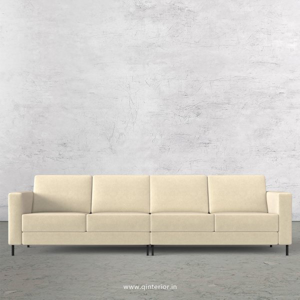 NIRVANA 4 Seater Sofa in Velvet Fabric - SFA016 VL01