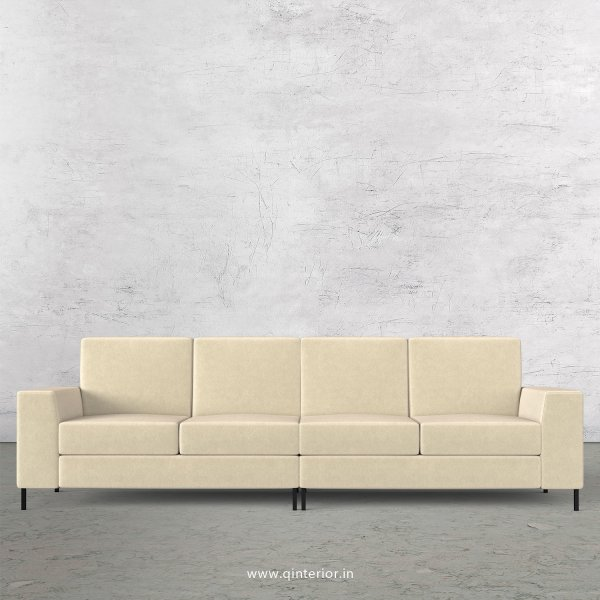 Viva 4 Seater Sofa in Velvet Fabric - SFA015 VL01