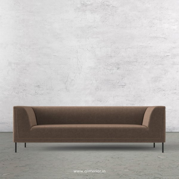 LUXURA 3 Seater Sofa in Velvet Fabric - SFA017 VL02