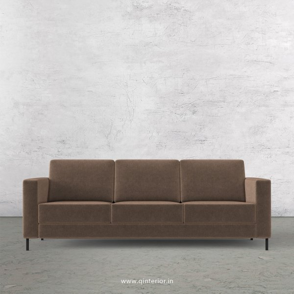 NIRVANA 3 Seater Sofa in Velvet Fabric - SFA016 VL02
