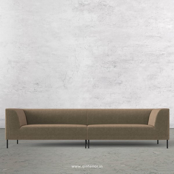 LUXURA 4 Seater Sofa in Velvet Fabric - SFA017 VL03