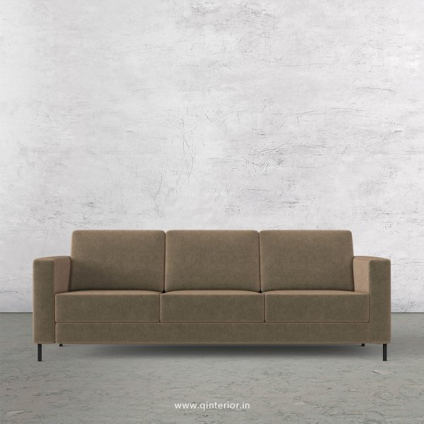 NIRVANA 3 Seater Sofa in Velvet Fabric - SFA016 VL03