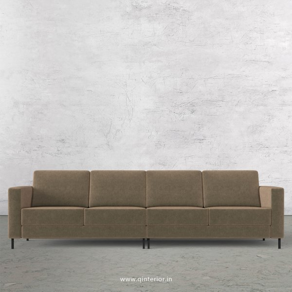 NIRVANA 4 Seater Sofa in Velvet Fabric - SFA016 VL03