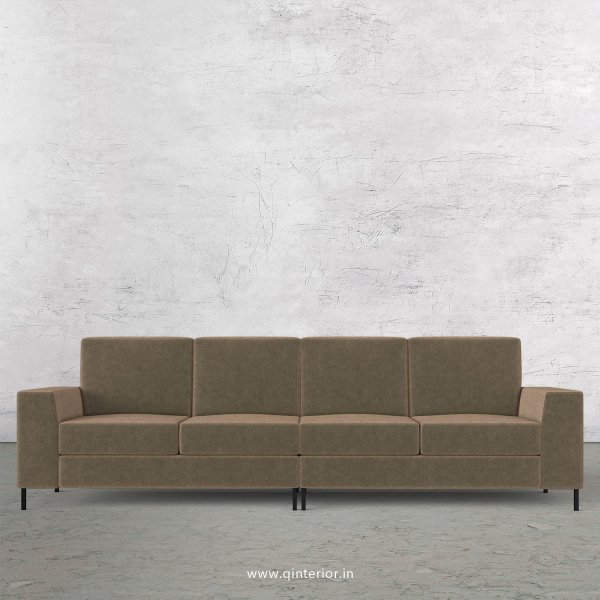 Viva 4 Seater Sofa in Velvet Fabric - SFA015 VL03