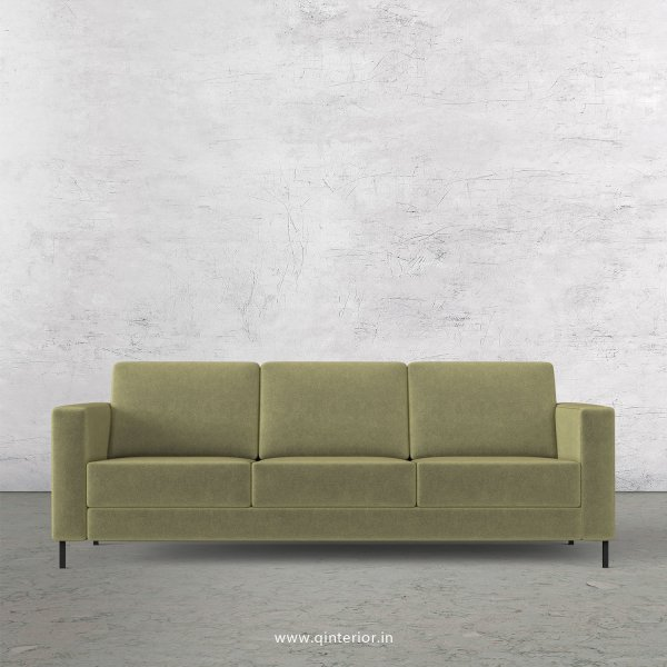 NIRVANA 3 Seater Sofa in Velvet Fabric - SFA016 VL04