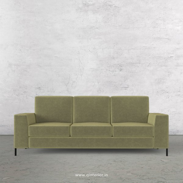 Viva 3 Seater Sofa in Velvet Fabric - SFA015 VL04