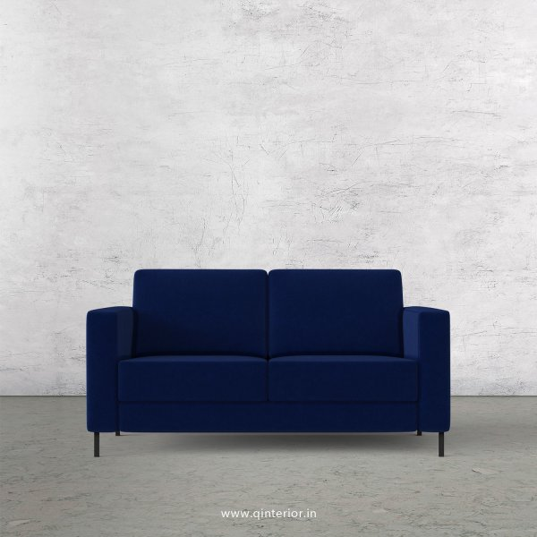 NIRVANA 2 Seater Sofa in Velvet Fabric - SFA016 VL05