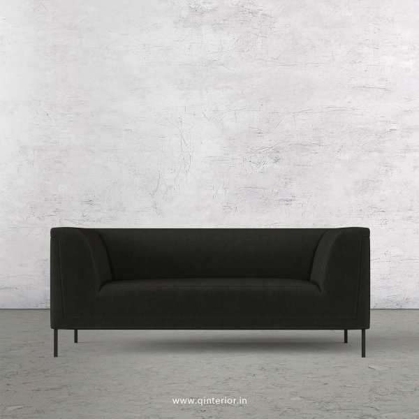 LUXURA 2 Seater Sofa in Velvet Fabric - SFA017 VL07