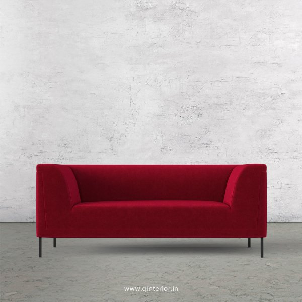 LUXURA 2 Seater Sofa in Velvet Fabric - SFA017 VL08