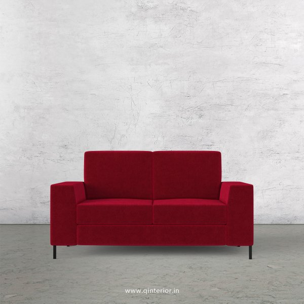 Viva 2 Seater Sofa in Velvet Fabric - SFA015 VL08