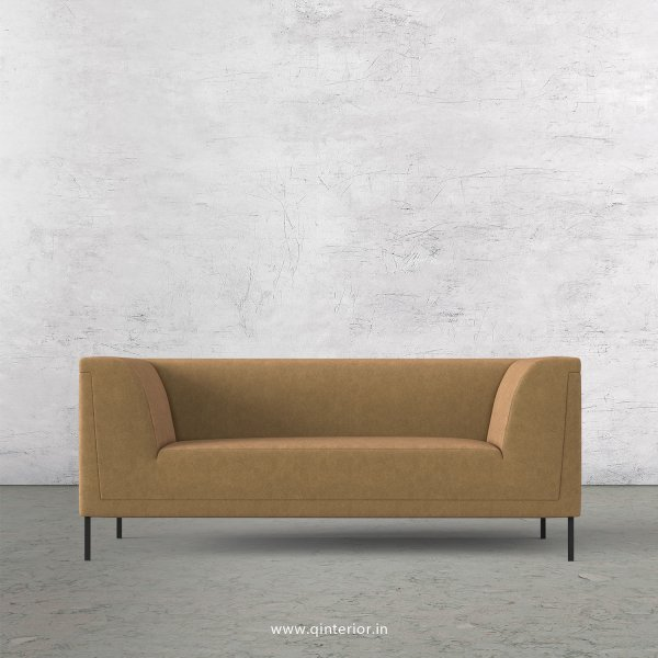 LUXURA 2 Seater Sofa in Velvet Fabric - SFA017 VL09