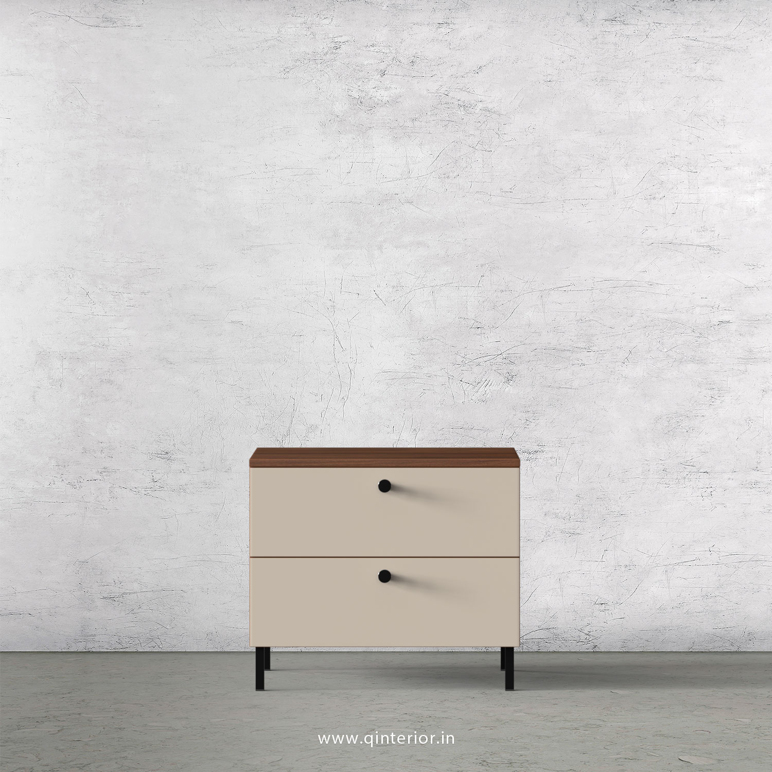 Picture of: Lambent Bed Side Table In Teak And Ceramic Finish Bst005 By Q Interior
