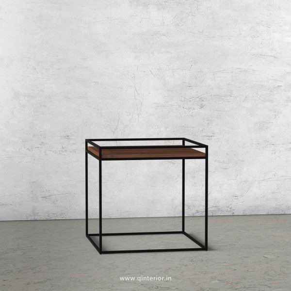Opulent Side Table with Teak Finish - OST001 C3