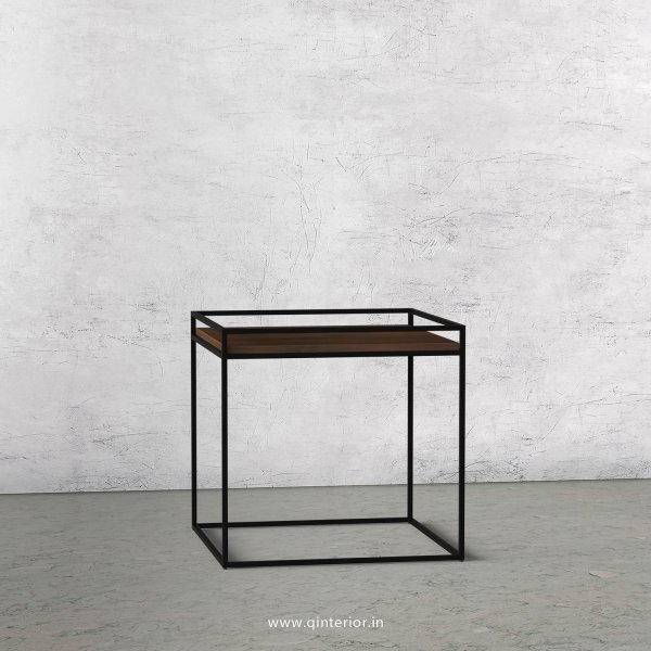 Opulent Side Table with Walnut Finish - OST001 C1