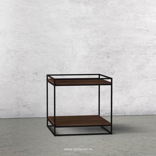 Opulent Side Table with Walnut Finish - OST002 C1