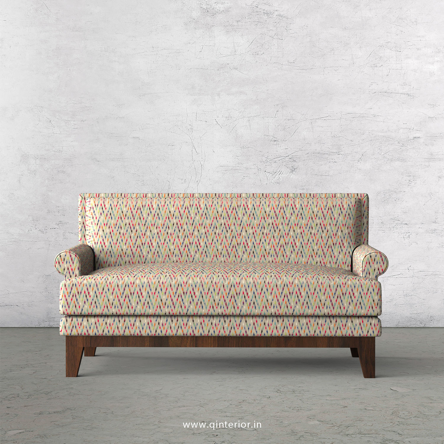 Aviana 2 Seater Sofa in Bargello Fabric - SFA001 BG10