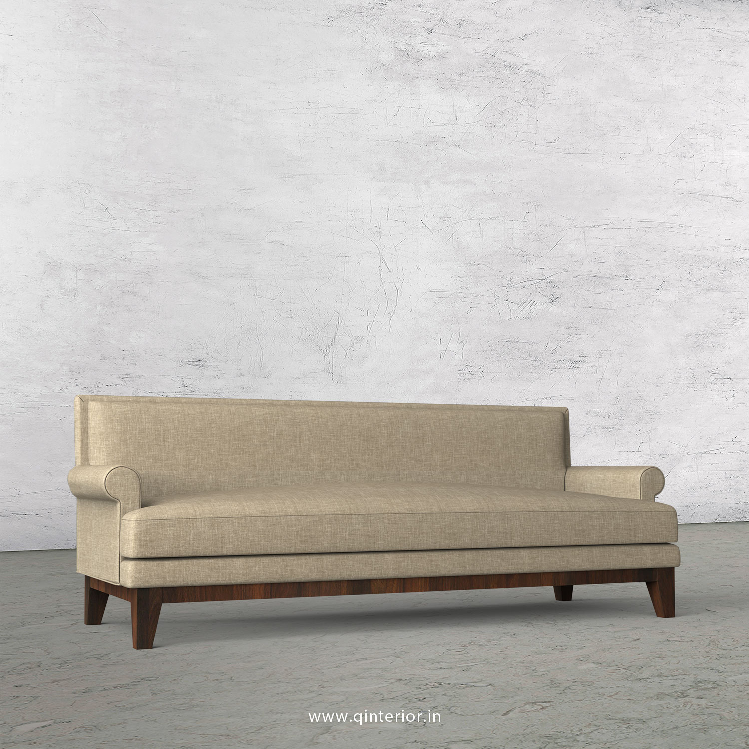 Aviana 3 Seater Sofa in Cotton Plain - SFA001 CP01