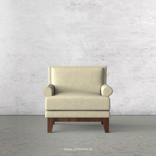 Aviana 1 Seater Sofa in Cotton Plain - SFA001 CP03