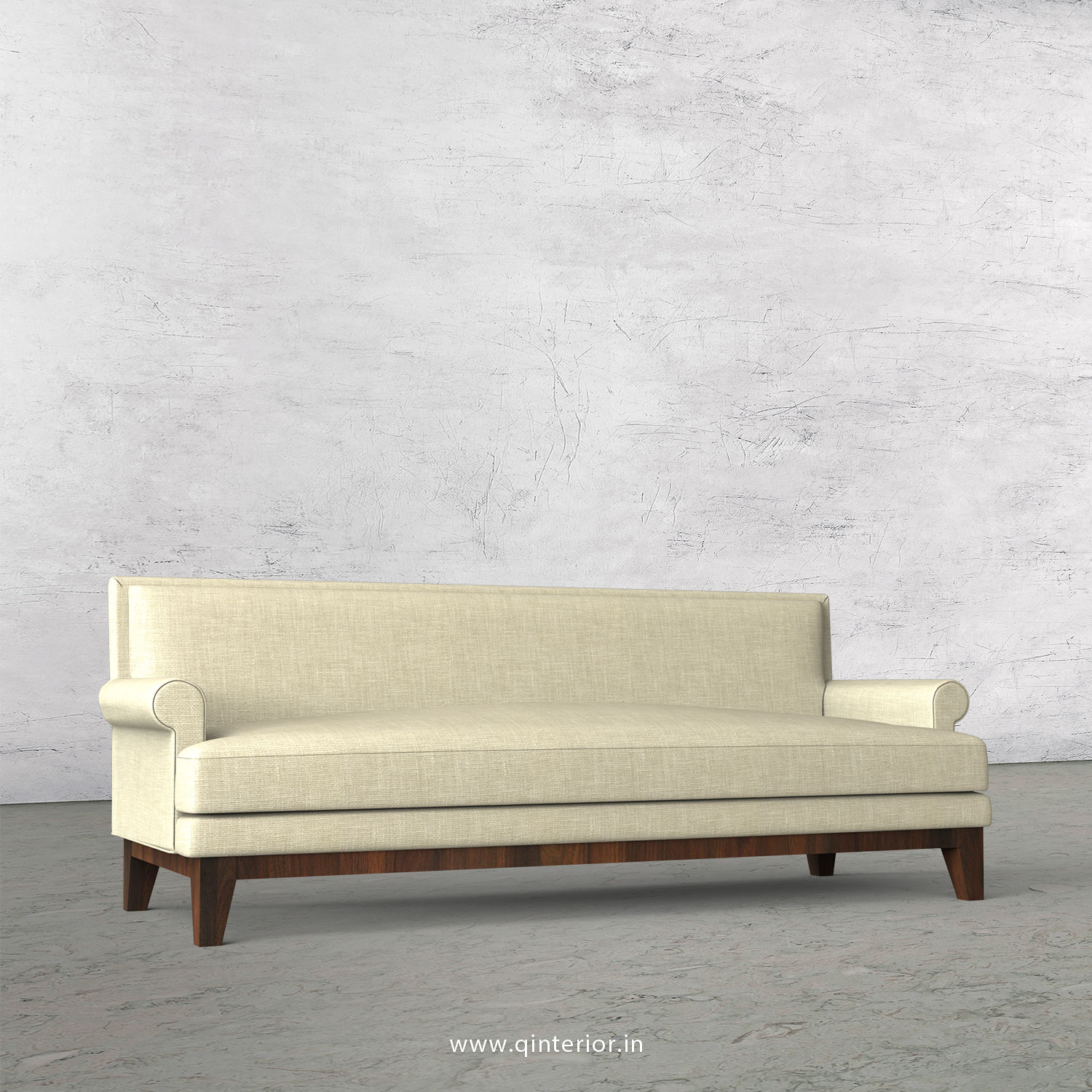 Aviana 3 Seater Sofa in Cotton Plain - SFA001 CP03