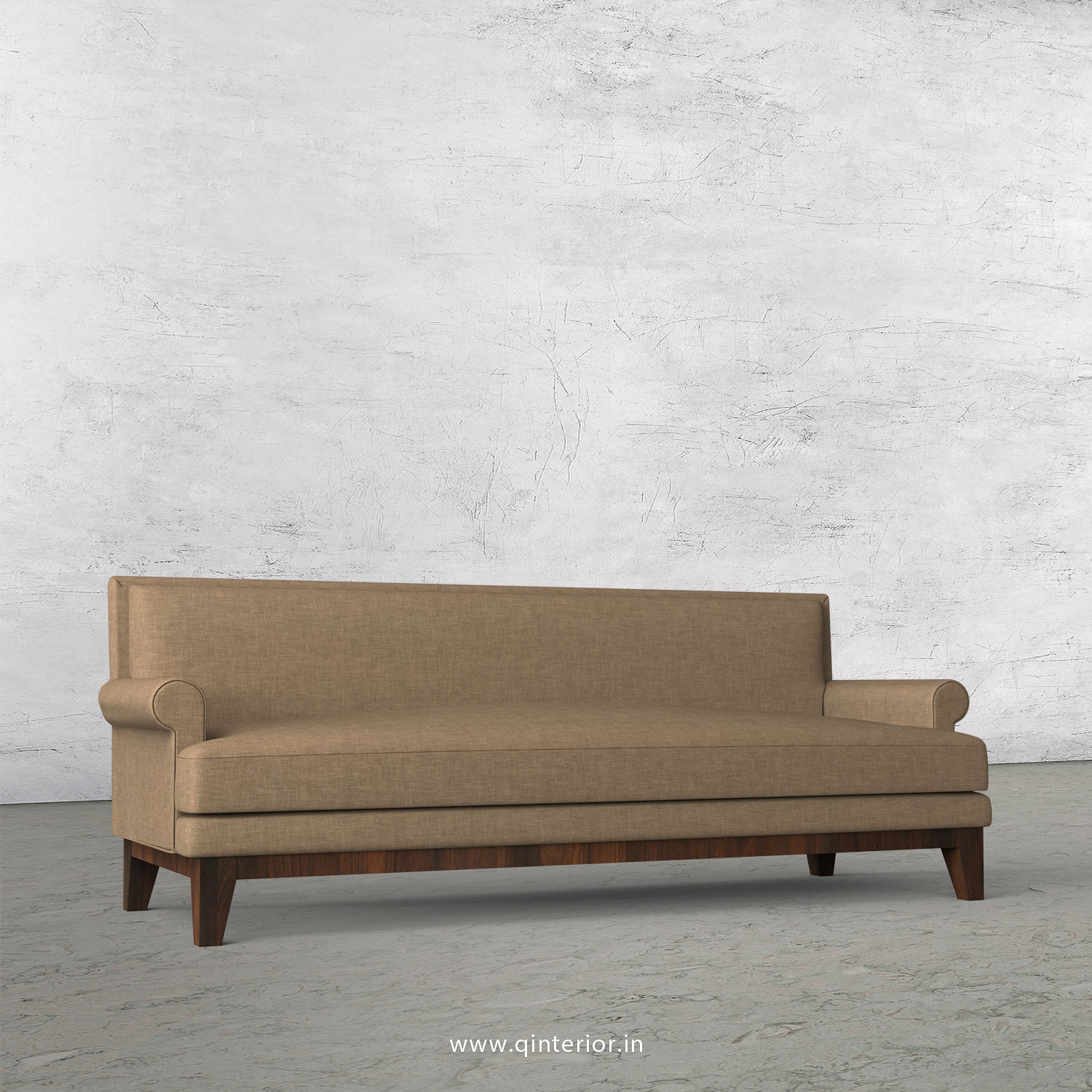 Aviana 3 Seater Sofa in Cotton Plain - SFA001 CP08
