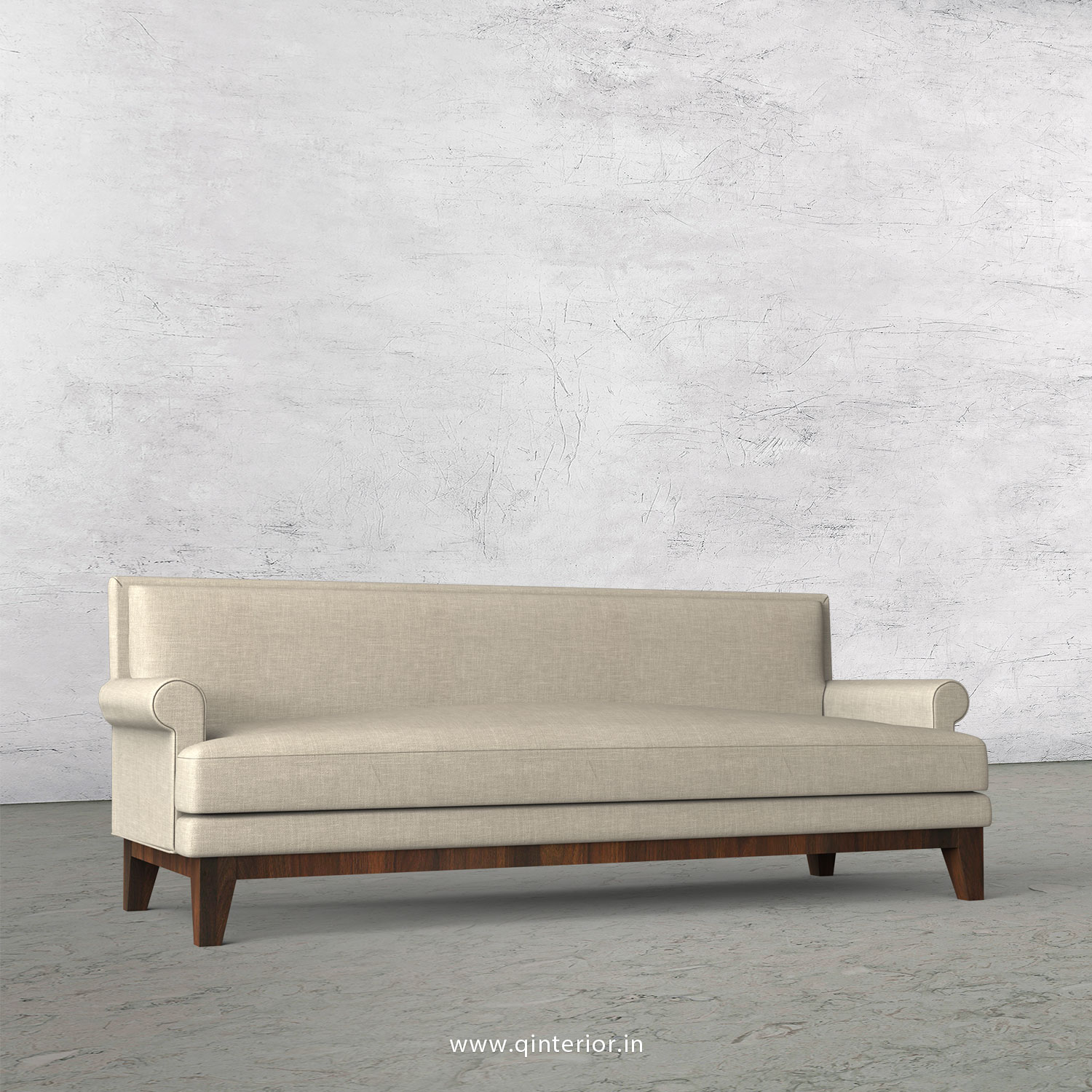 Aviana 3 Seater Sofa in Cotton Plain - SFA001 CP12