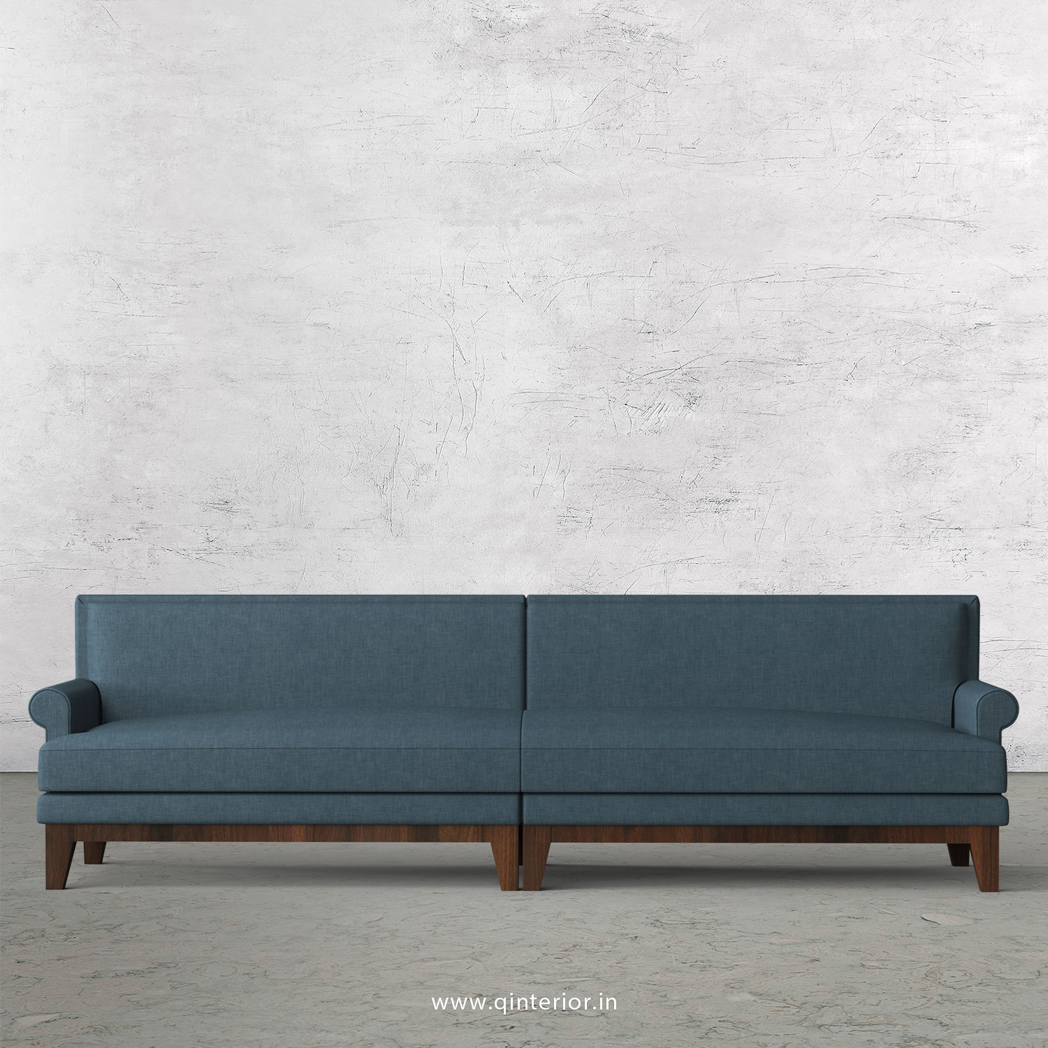 Aviana 4 Seater Sofa in Cotton Plain - SFA001 CP14