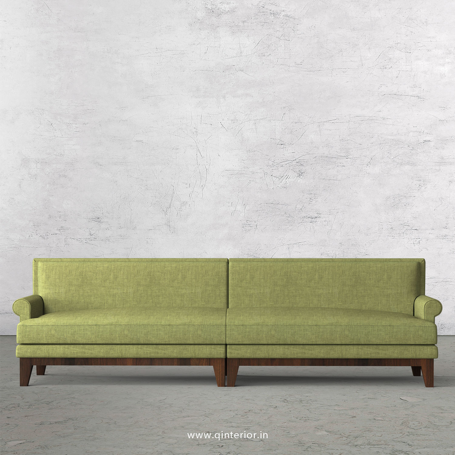 Aviana 4 Seater Sofa in Cotton Plain - SFA001 CP18