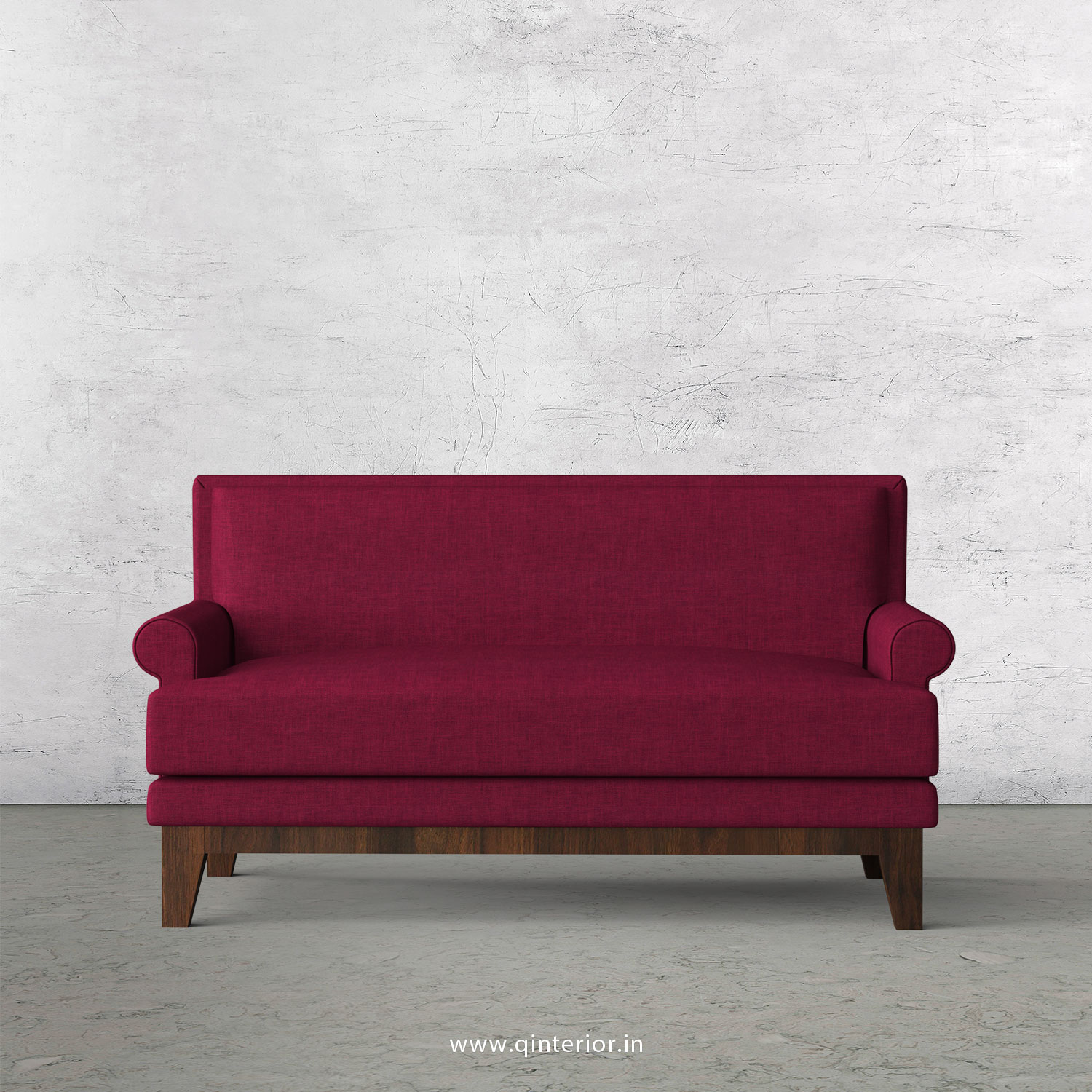 Aviana 2 Seater Sofa in Cotton Plain - SFA001 CP25