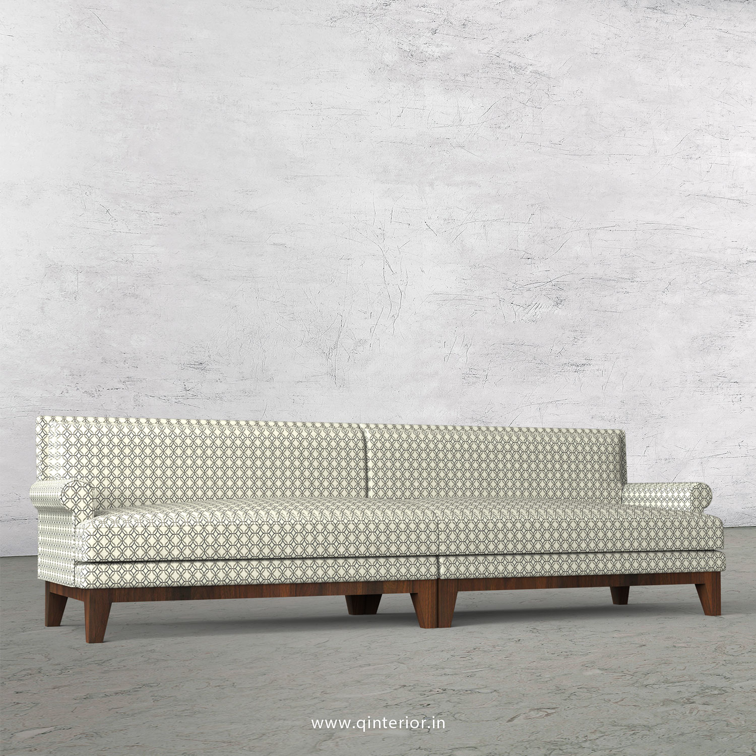 Aviana 4 Seater Sofa in Jacquard - SFA001 JQ03