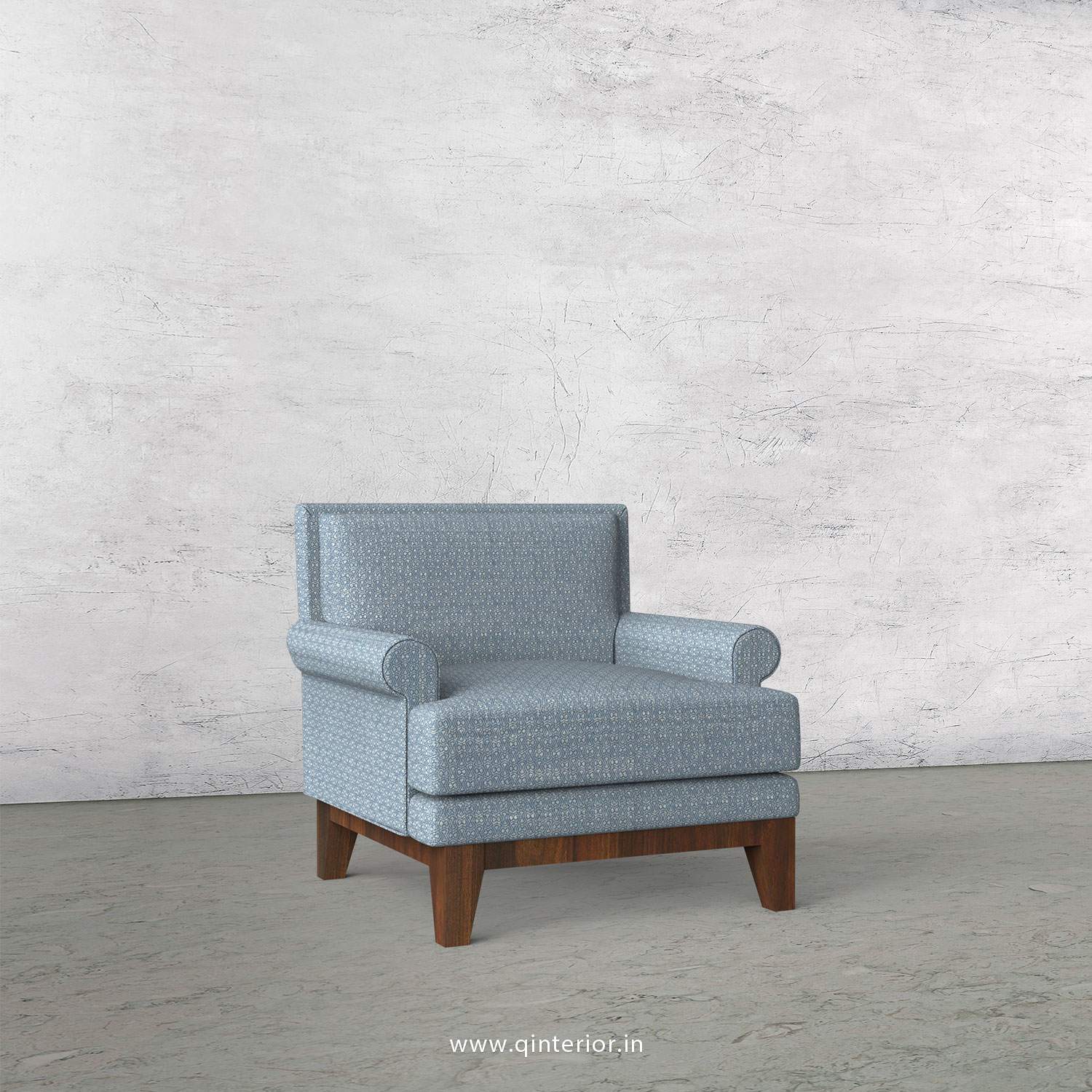 Aviana 1 Seater Sofa in Jacquard - SFA001 JQ28