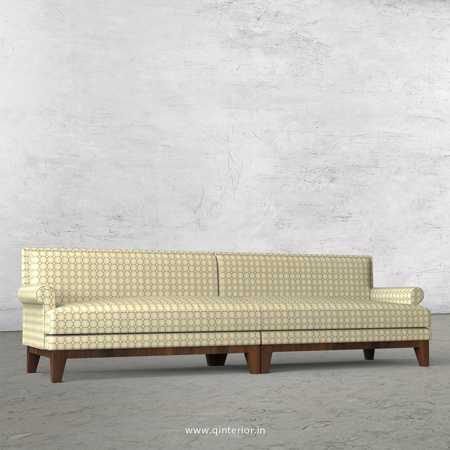 Aviana 4 Seater Sofa in Jacquard - SFA001 JQ30