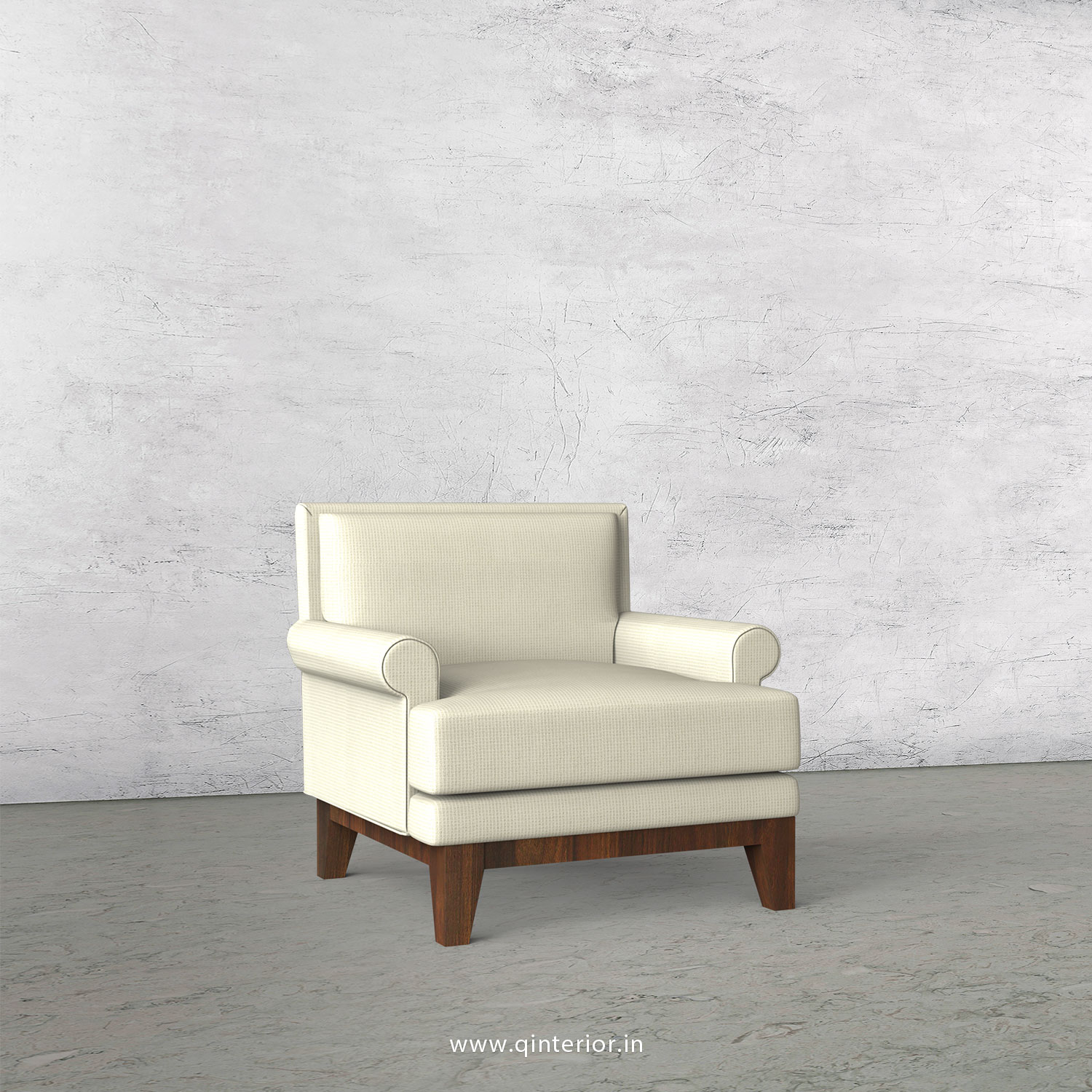 Aviana 1 Seater Sofa in Marvello - SFA001 MV07