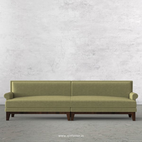Aviana 4 Seater Sofa in Velvet Fabric - SFA001 VL04