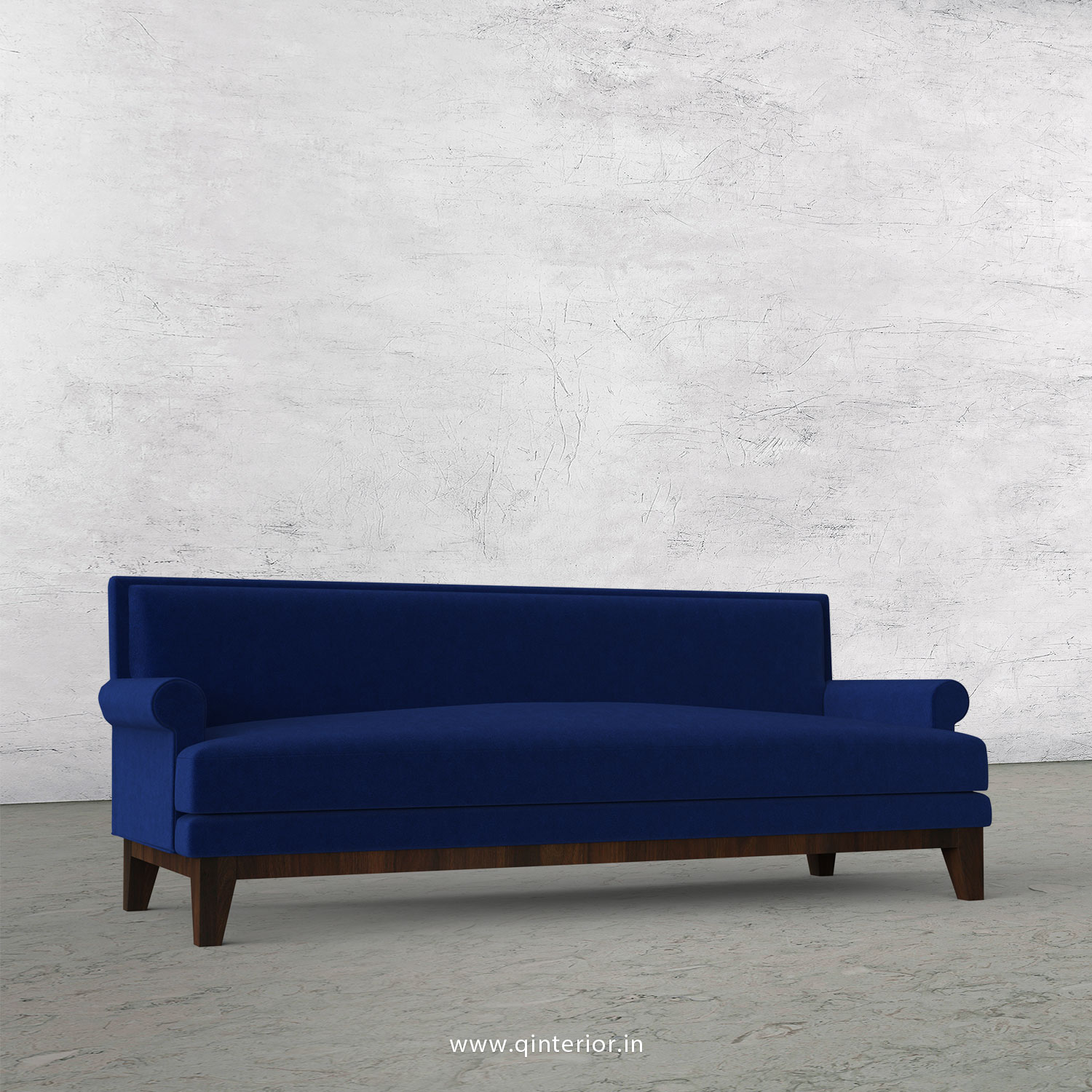 Aviana 3 Seater Sofa in Velvet Fabric - SFA001 VL05