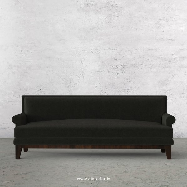 Aviana 3 Seater Sofa in Velvet Fabric - SFA001 VL07