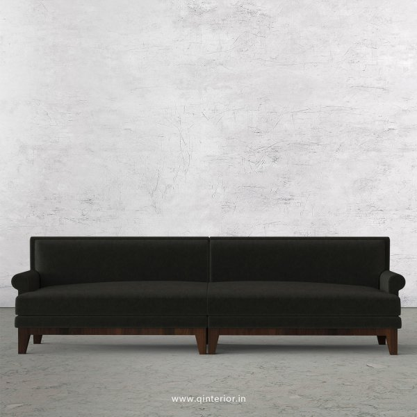 Aviana 4 Seater Sofa in Velvet Fabric - SFA001 VL07
